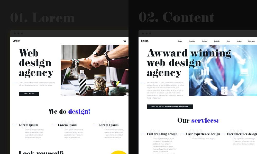 محتوا را درک کنید - طراحی سایت